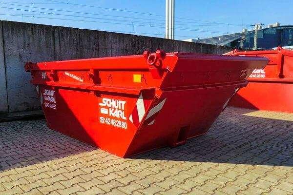 Schutt Karl | Absetzcontainer kranbar