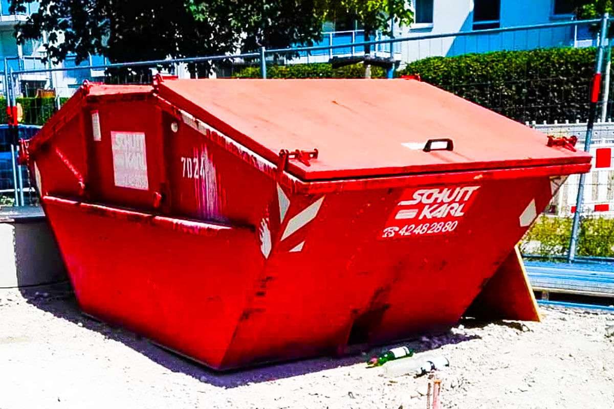 Schutt Karl | Container geschlossen