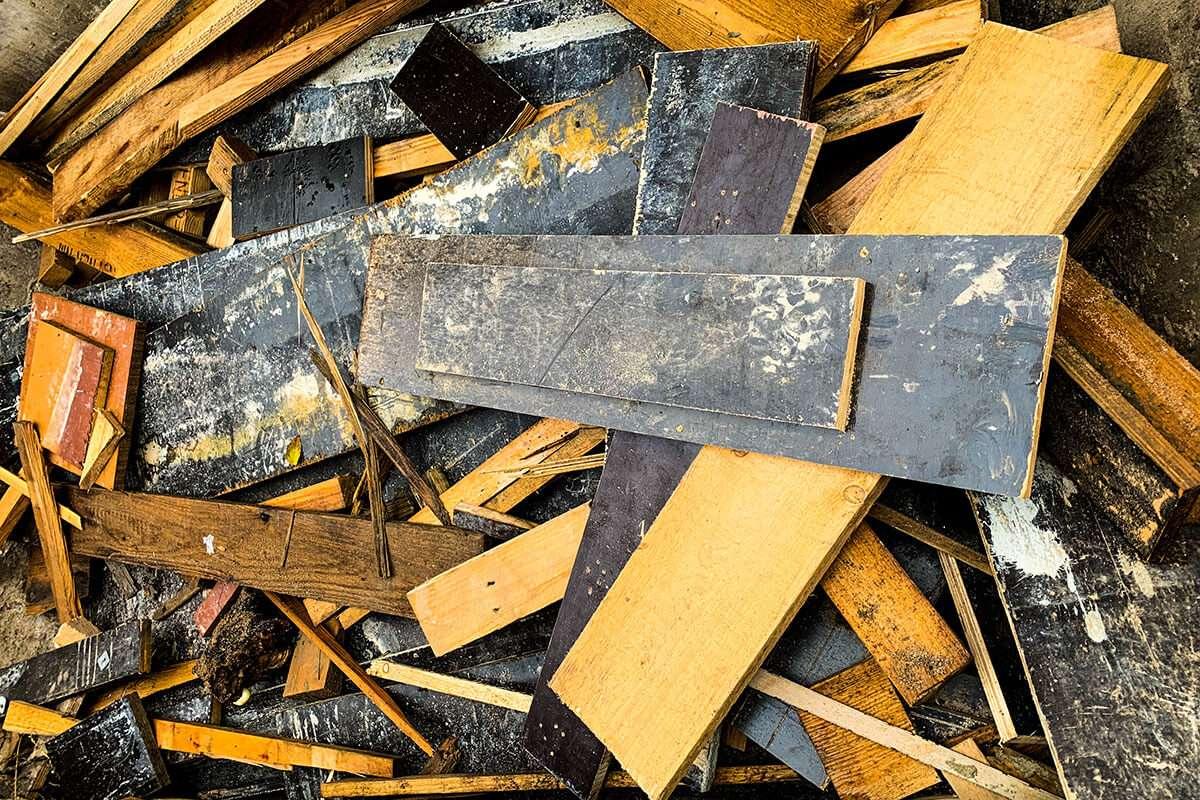 Bau Schutt | Entsorgung Holz